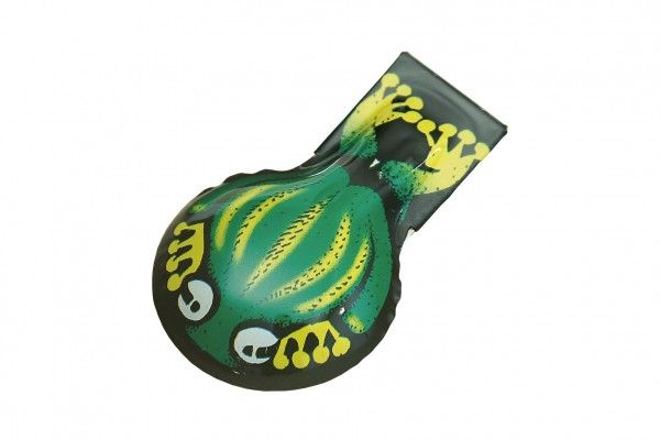 Cvakačka žába kov 6 cm v sáčku