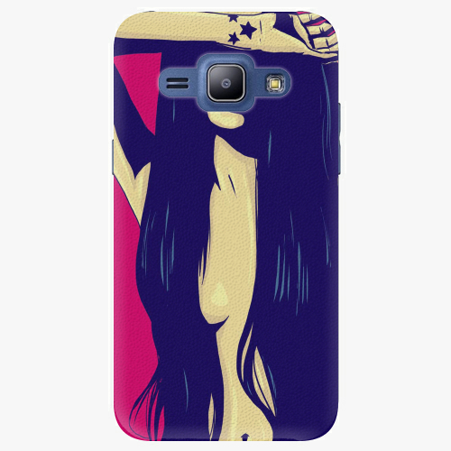 Plastový kryt iSaprio - Cartoon Girl - Samsung Galaxy J1