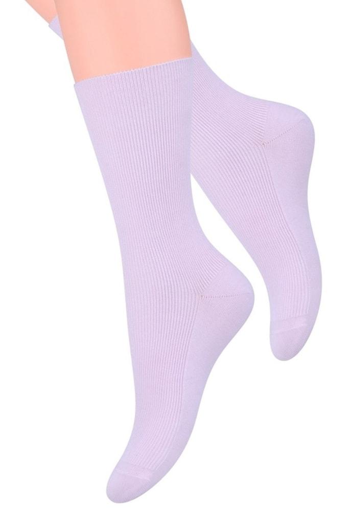Dámské ponožky 018 violet - 35/38