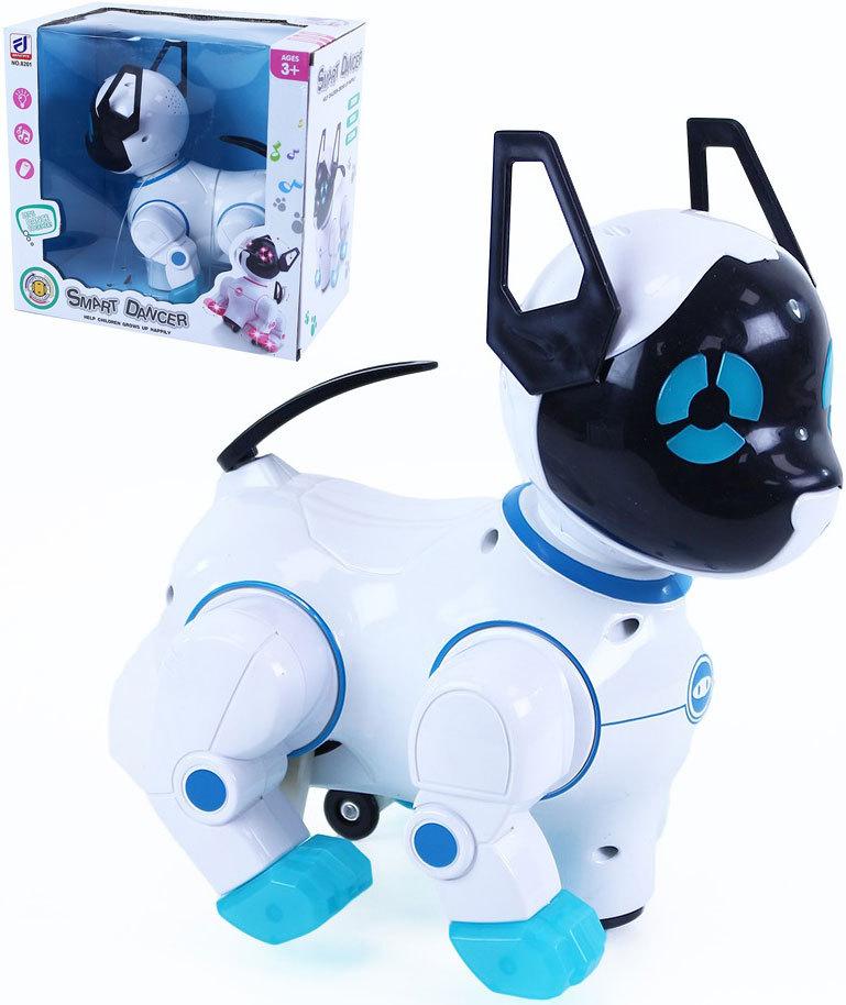 Robot kočka interaktivní tančící na baterie