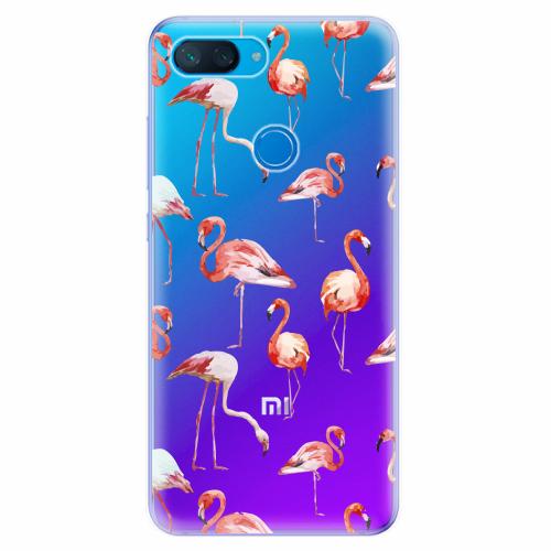 Silikonové pouzdro iSaprio - Flami Pattern 01 - Xiaomi Mi 8 Lite