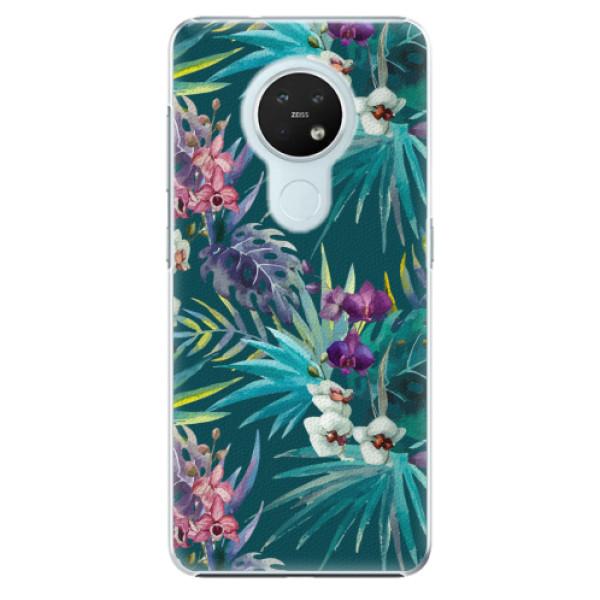 Plastové pouzdro iSaprio - Tropical Blue 01 - Nokia 7.2