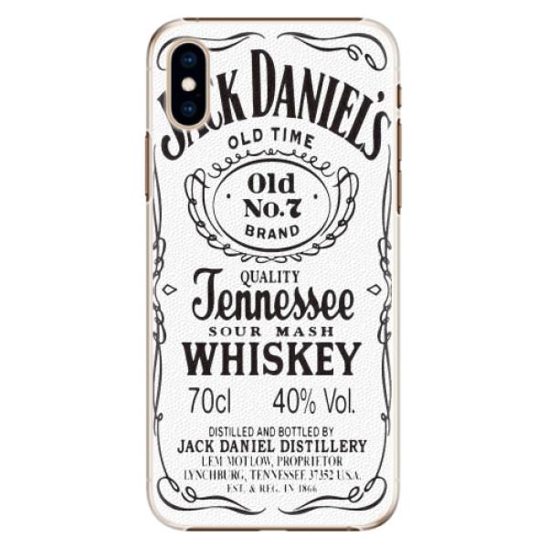 Plastové pouzdro iSaprio - Jack White - iPhone XS