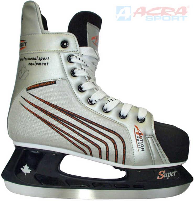 ACRA Brusle hokejové rekreační velikost 45 (29cm) pánské