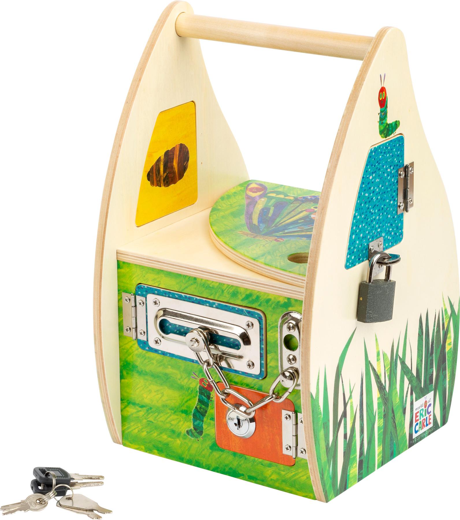 Small Foot Tajemný dům se zámky Caterpillar