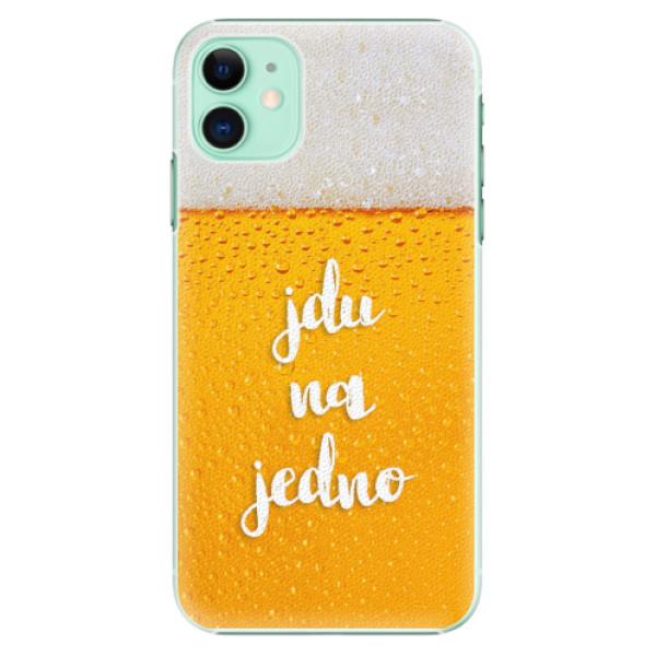 Plastové pouzdro iSaprio - Jdu na jedno - iPhone 11