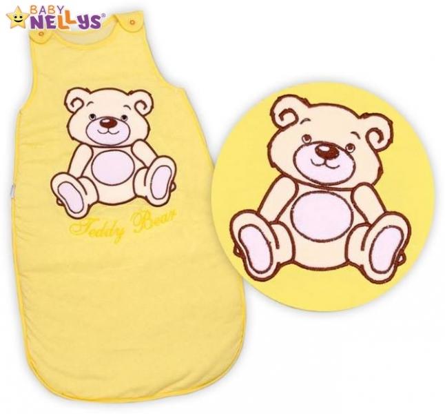 spaci-vak-teddy-bear-baby-nellys-zluty-kremovy-vel-2