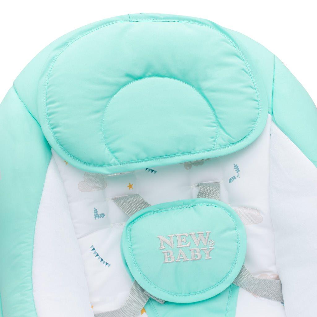 Dětské houpací lehátko NEW BABY TEDDY