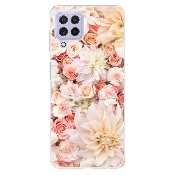Odolné silikonové pouzdro iSaprio - Flower Pattern 06 - Samsung Galaxy A22