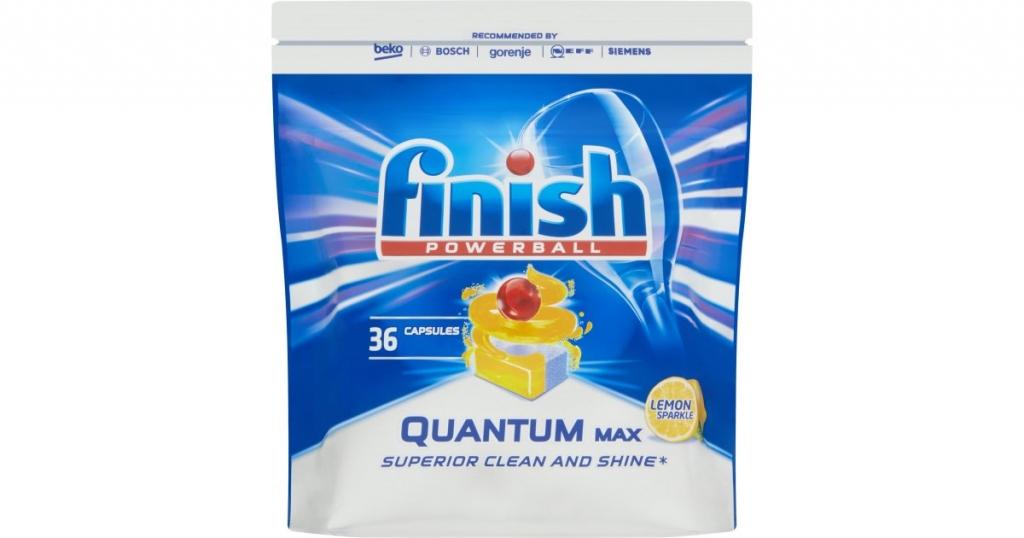 Quantum Max Lemon Sparkle tablety do myčky 36 ks