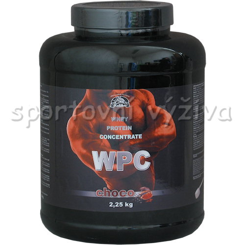 WPC Whey Protein Concentrate - 2250g-vanilka