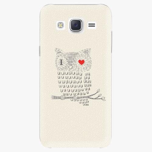 Plastový kryt iSaprio - I Love You 01 - Samsung Galaxy Core Prime