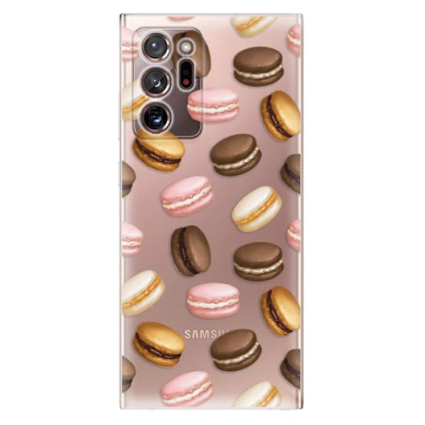 Odolné silikonové pouzdro iSaprio - Macaron Pattern - Samsung Galaxy Note 20 Ultra