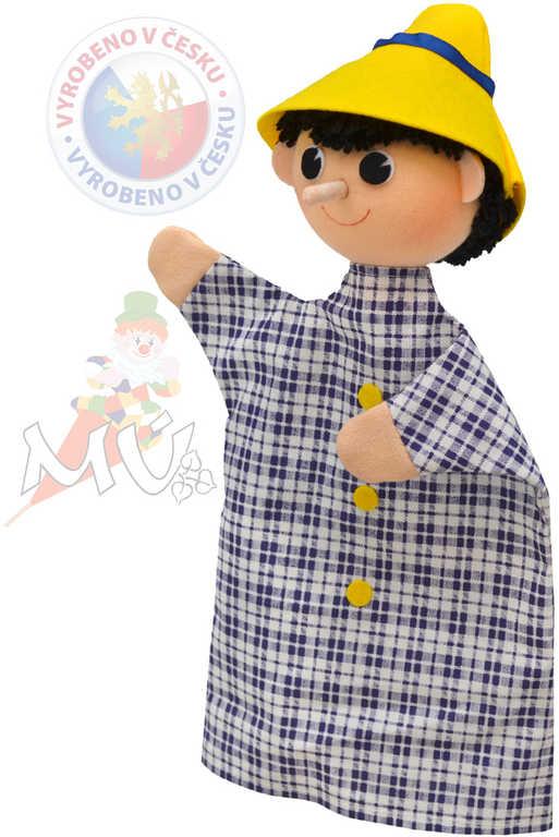 MORAVSKÁ ÚSTŘEDNA Maňásek Kluk s dlouhým nosem (Pinokio)