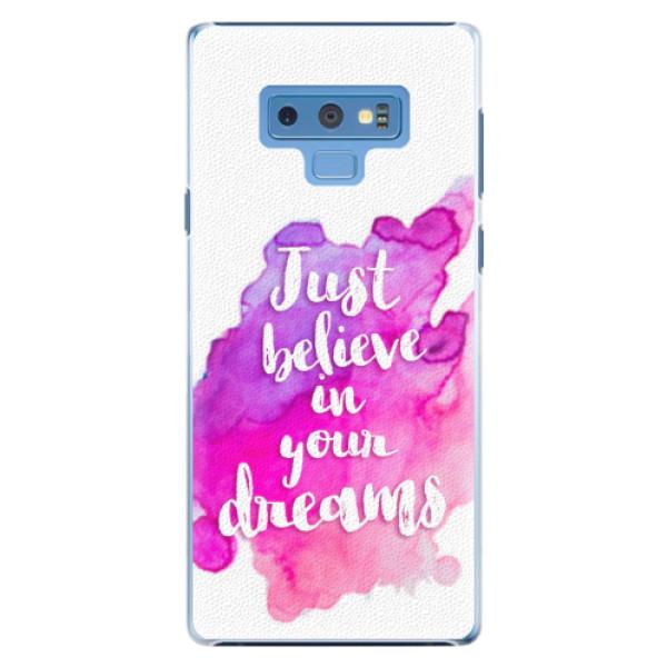 Plastové pouzdro iSaprio - Believe - Samsung Galaxy Note 9