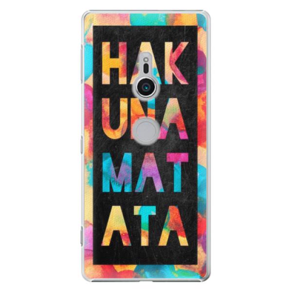 Plastové pouzdro iSaprio - Hakuna Matata 01 - Sony Xperia XZ2