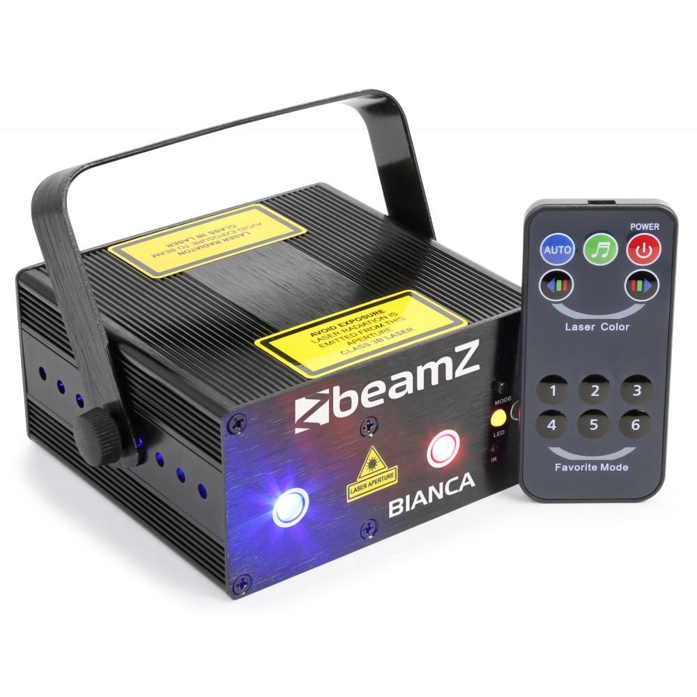 BeamZ Laser Bianca Double 330mW RGB Gobo, DO