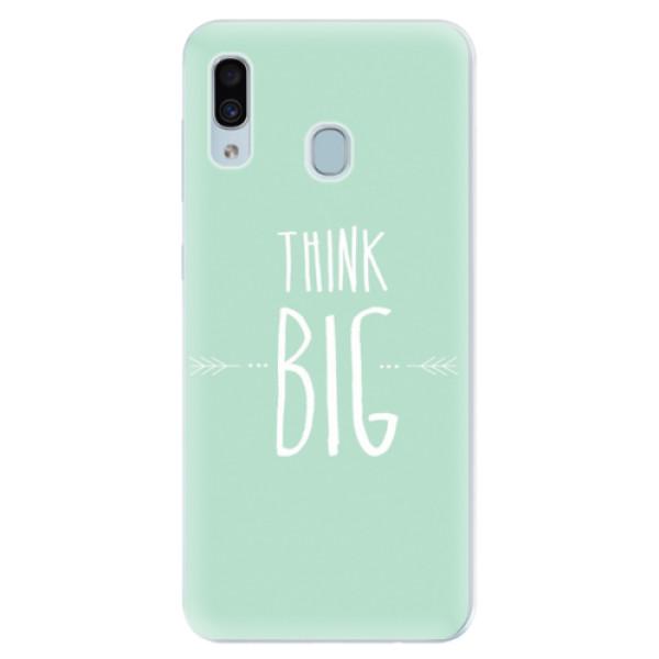 Silikonové pouzdro iSaprio - Think Big - Samsung Galaxy A30