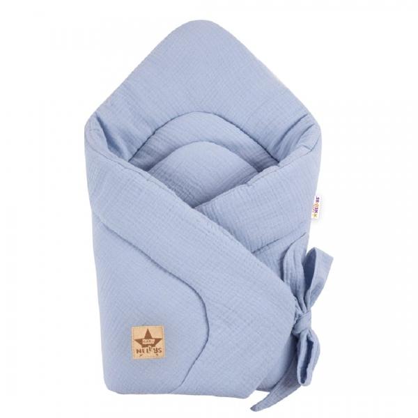 baby-nellys-kojenecka-zavinovacka-muselinova-na-stuhu-70x70cm-sv-modra