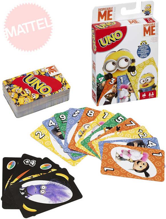 MATTEL Hra Uno karty Mimoni (Minions)