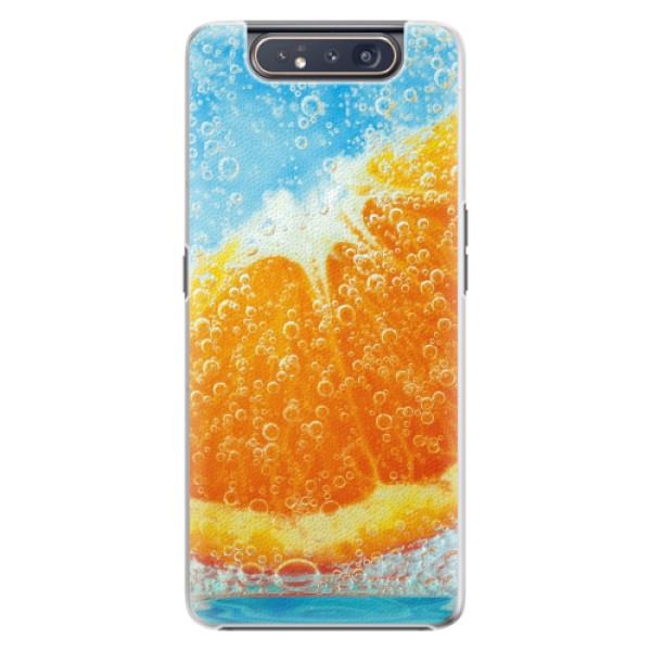 Plastové pouzdro iSaprio - Orange Water - Samsung Galaxy A80