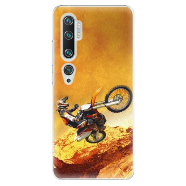 Plastové pouzdro iSaprio - Motocross - Xiaomi Mi Note 10 / Note 10 Pro