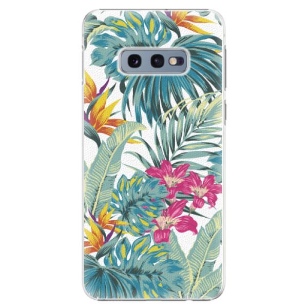 Plastové pouzdro iSaprio - Tropical White 03 - Samsung Galaxy S10e