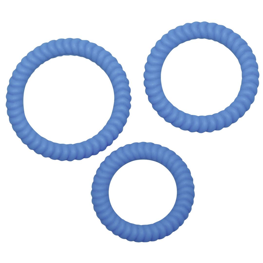 Sada kroužků různých velikostí 3 ks Lust 3 Blue