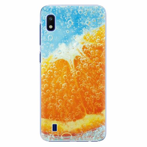 Plastový kryt iSaprio - Orange Water - Samsung Galaxy A10