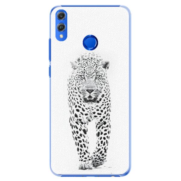 Plastové pouzdro iSaprio - White Jaguar - Huawei Honor 8X