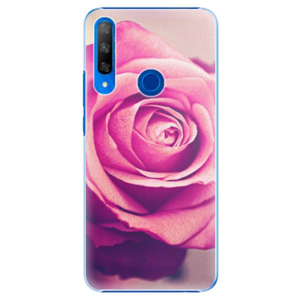Plastové pouzdro iSaprio - Pink Rose - Huawei Honor 9X