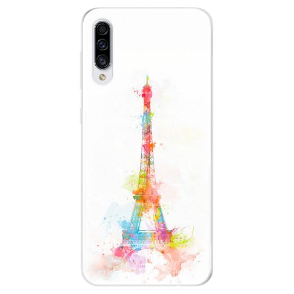 Odolné silikonové pouzdro iSaprio - Eiffel Tower - Samsung Galaxy A30s