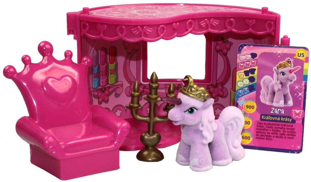 EP Line Filly Unicorn Pokoj snů herní set koník s nábytkem a doplňky