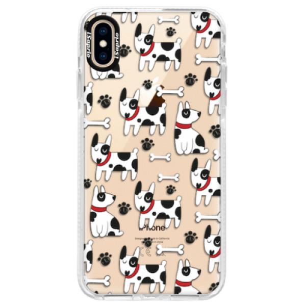 Silikonové pouzdro Bumper iSaprio - Dog 02 - iPhone XS Max