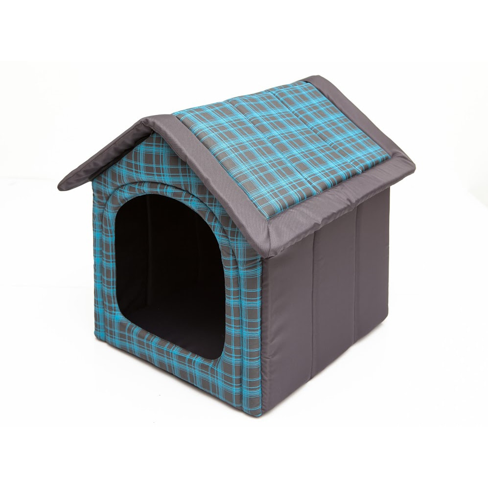 Domeček pro psa Reedog Grey Strips
