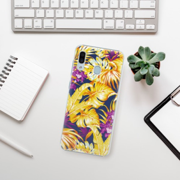 Plastové pouzdro iSaprio - Tropical Orange 04 - Samsung Galaxy A30