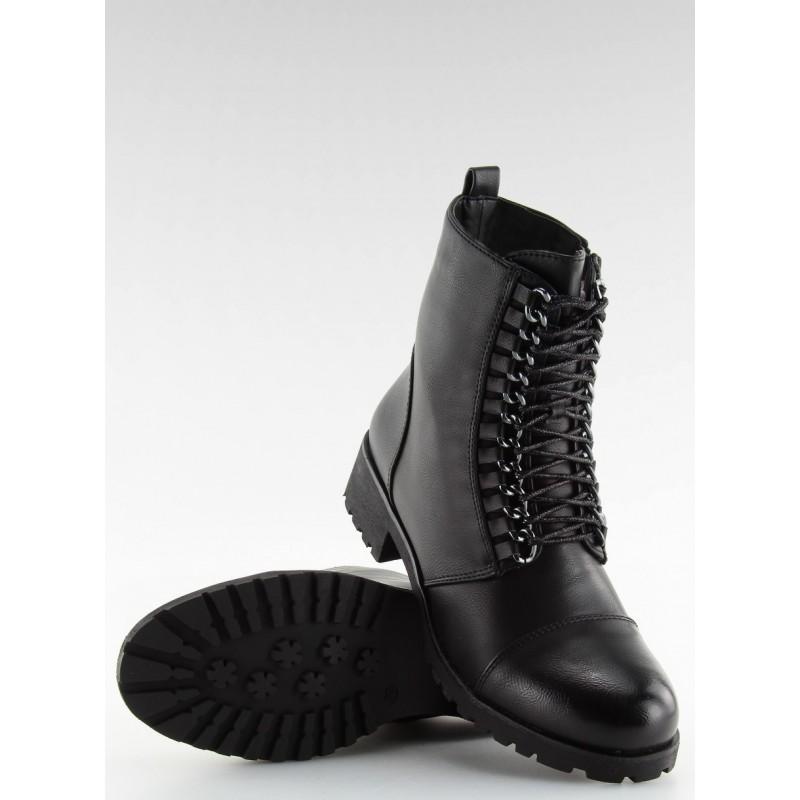 Dámské boty Workery A89626 - Andarina - Černá/37