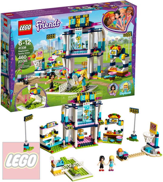 LEGO FRIENDS Stephanie ve sportovní aréně STAVEBNICE 41338