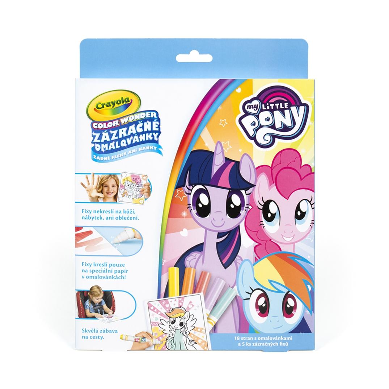 Crayola Zázračné omalovánky My little Pony