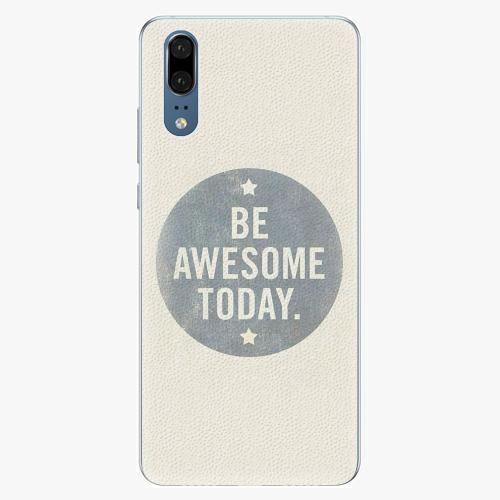 Silikonové pouzdro iSaprio - Awesome 02 - Huawei P20