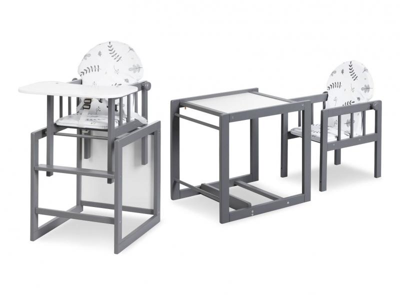 Klups Jídelní stoleček Lily - grafit