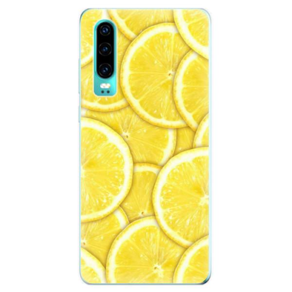 Odolné silikonové pouzdro iSaprio - Yellow - Huawei P30