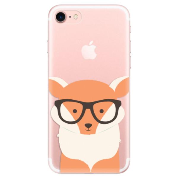 Odolné silikonové pouzdro iSaprio - Orange Fox - iPhone 7