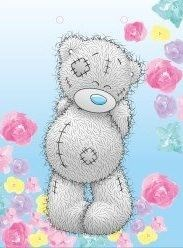 M - Me to you - kreslený medvídek