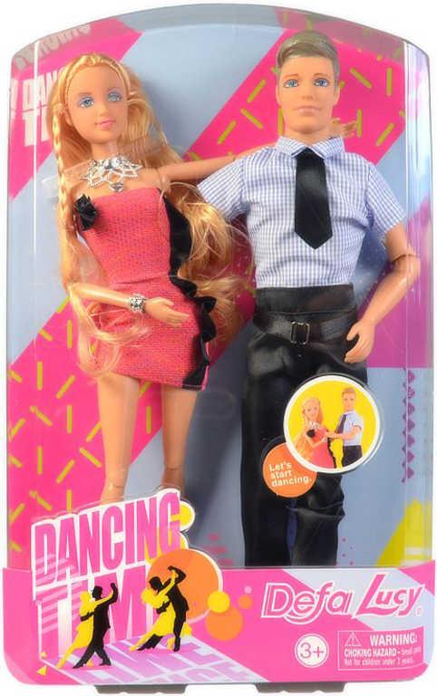 Defa Lucy taneční pár set panenka 28cm + panák 2 druhy