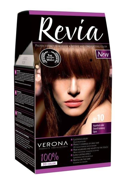 Barva na vlasy lískový ořech 10
