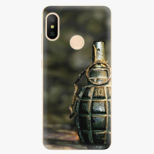 Silikonové pouzdro iSaprio - Grenade - Xiaomi Mi A2 Lite