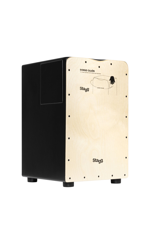 Stagg CAJ-BONGO-N, cajon s bongo efektem