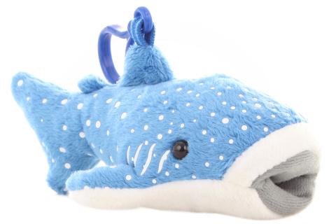 Plyš Žralok velrybí klíčenka