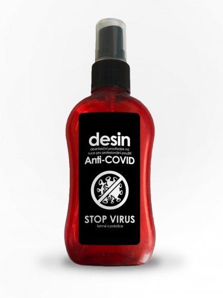 10x dezinfekce ve spreji STOP VIRUS - 10x 100ml